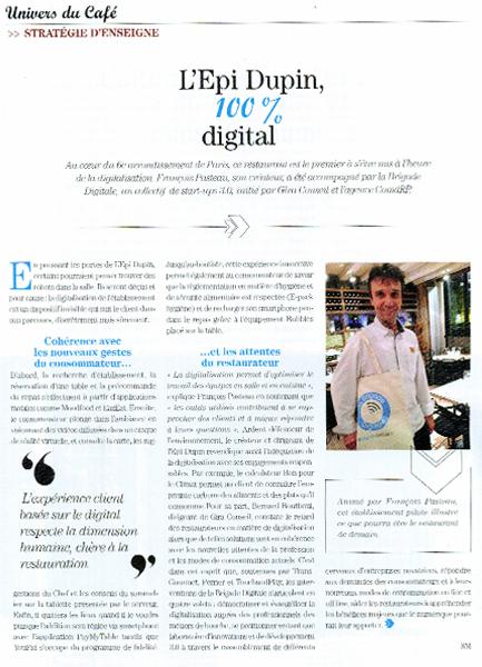 La Brigade Digitale, François Pasteau, Lucien Bertoti