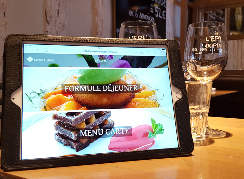Epi Dupin Restaurant Digital Paris